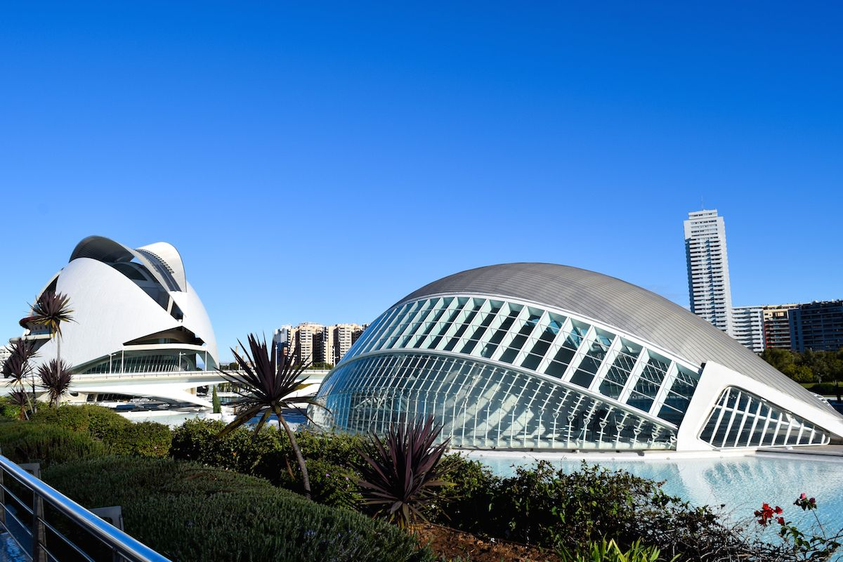 City of Arts & Sciences, Valencia, Spain