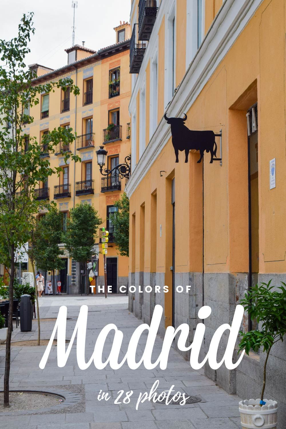 Walking the streets of Madrid...