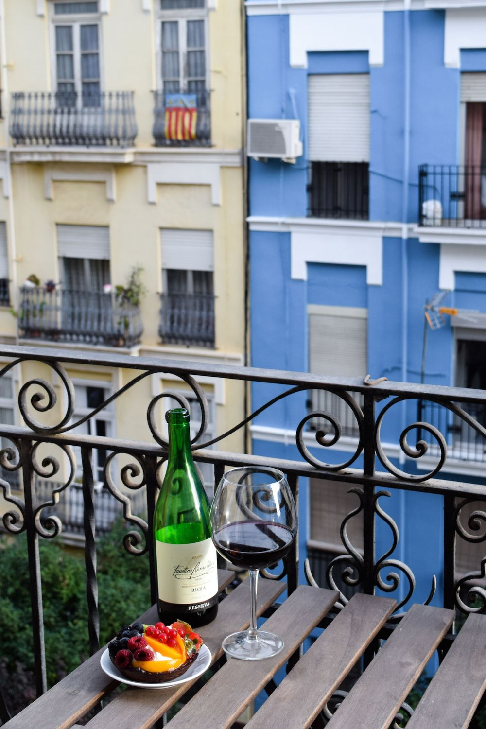 Balcony in Russafa, Valencia, Spain