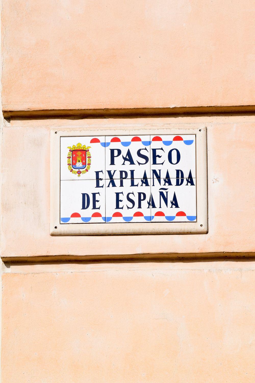 Paseo de la Explanada Alicante