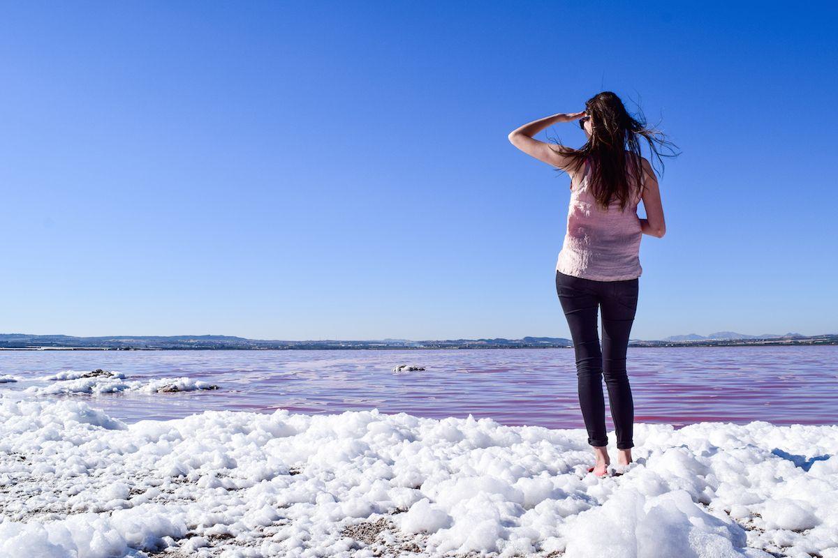 Pink Salt Flat of Torrevieja