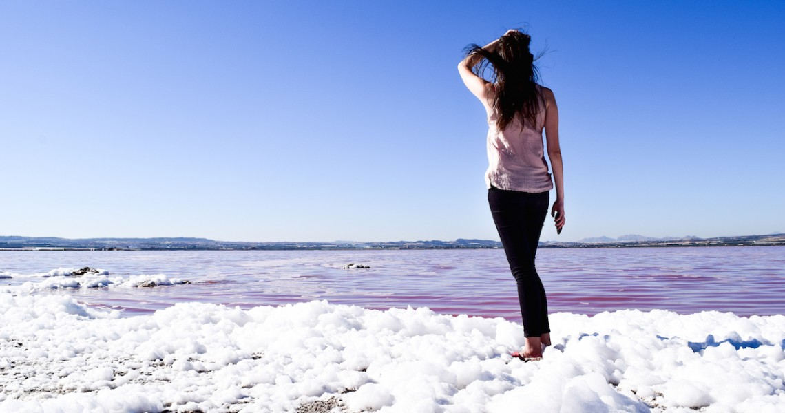 Pink Salt Flat of Torrevieja
