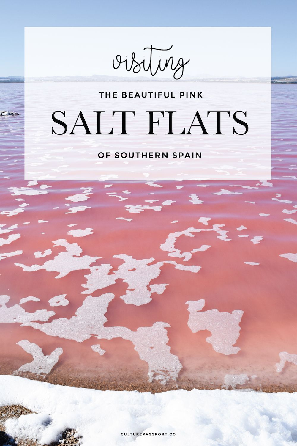 Visiting the Pink Salt Flat Torrevieja, Southern Spain, Pink Lake, Pink Salt Flat Spain
