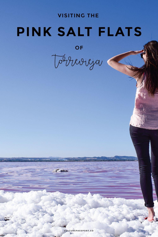 Visiting the Pink Salt Flat Torrevieja, Southern Spain, Pink Lake, Pink Salt Flat Spain