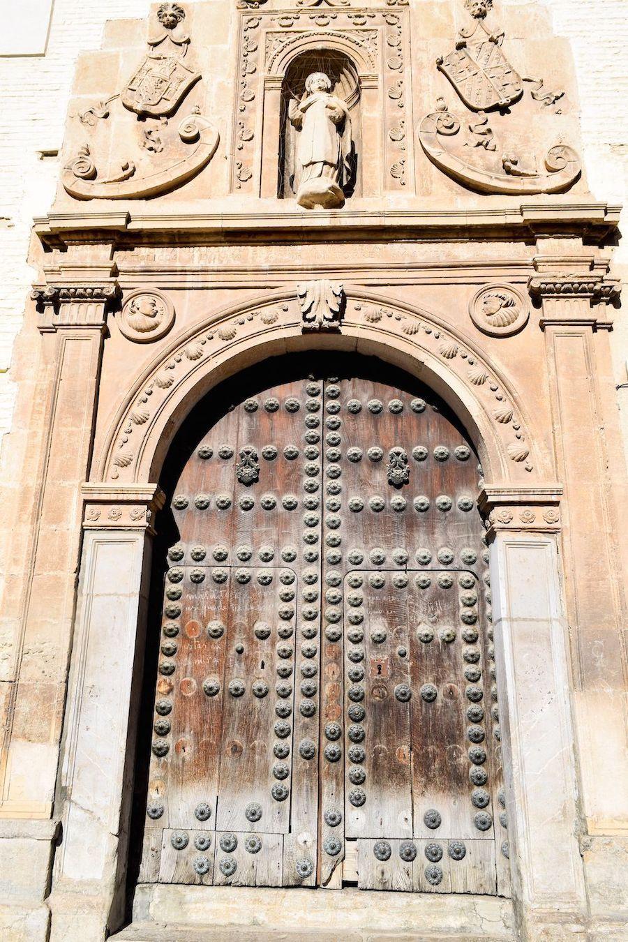 Granada Cathedral Doors