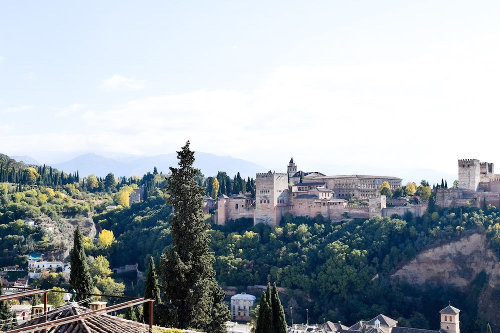 View of the Alahambra, Granada