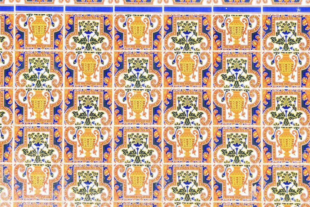 Orange Tile in Granada