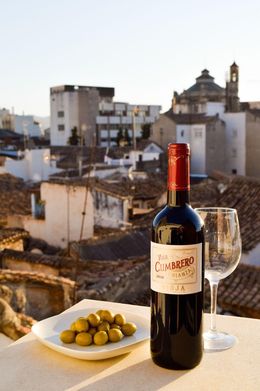 Wine in my apartment in Granada