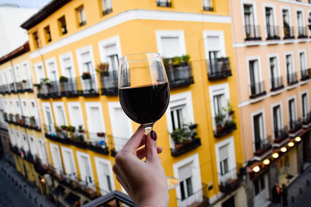 Cheers to you, Madrid!