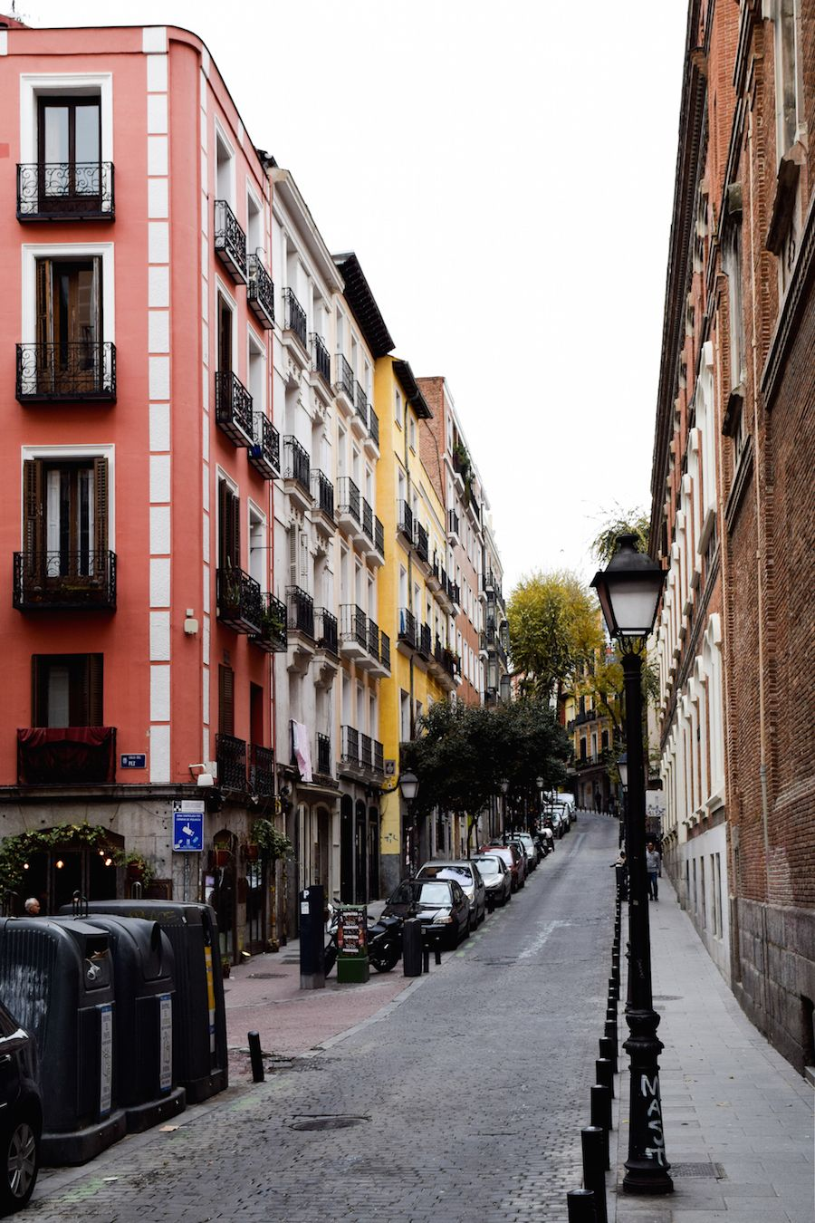 A street in Malasaña, Madrid