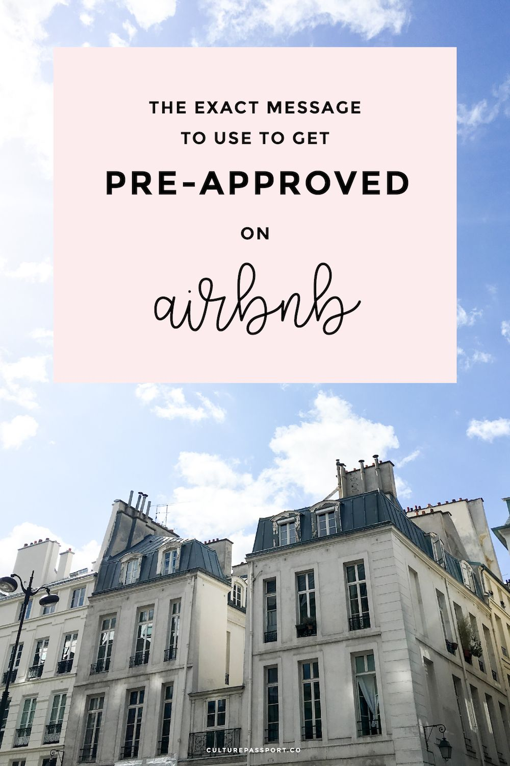 How to get Pre-Approved on Airbnb