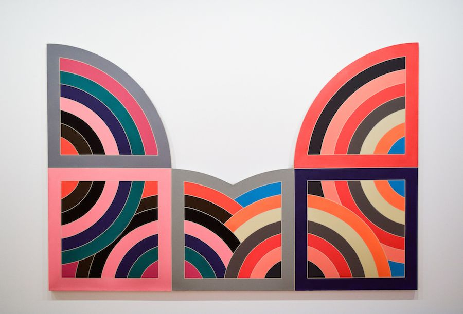 Frank Stella, Berardo Art Collection, Belém, Lisbon, Portugal