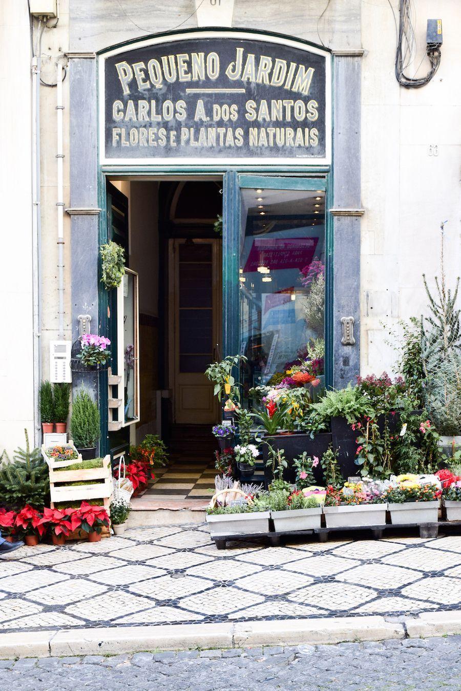 Flower shop Lisbon city center