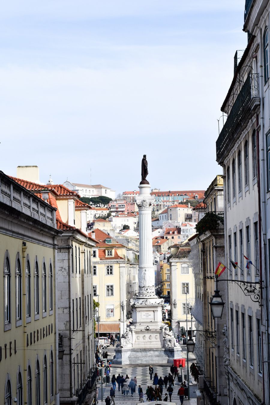 SO many hills in Lisbon Portugal which offer great views!