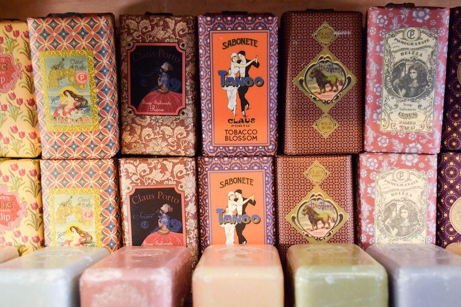 Lovely soaps in Lisbon Portugal