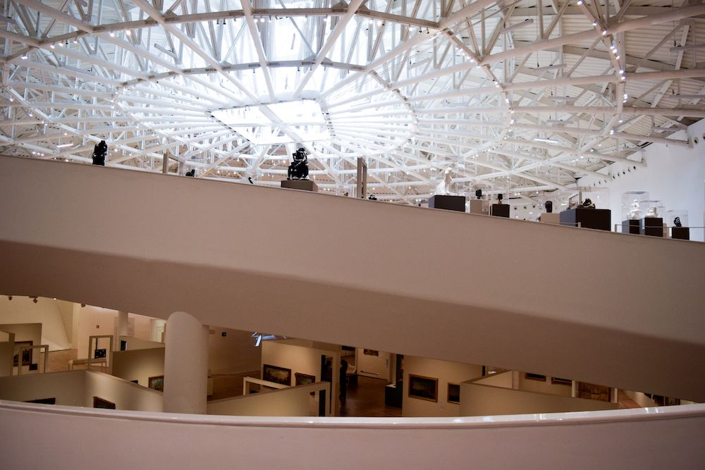 Inside the Museo Soumaya, Mexico City