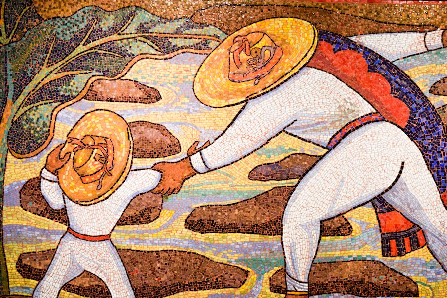 Diego Rivera, Rio Juchitan, 1956, Museo Soumaya, Mexico City