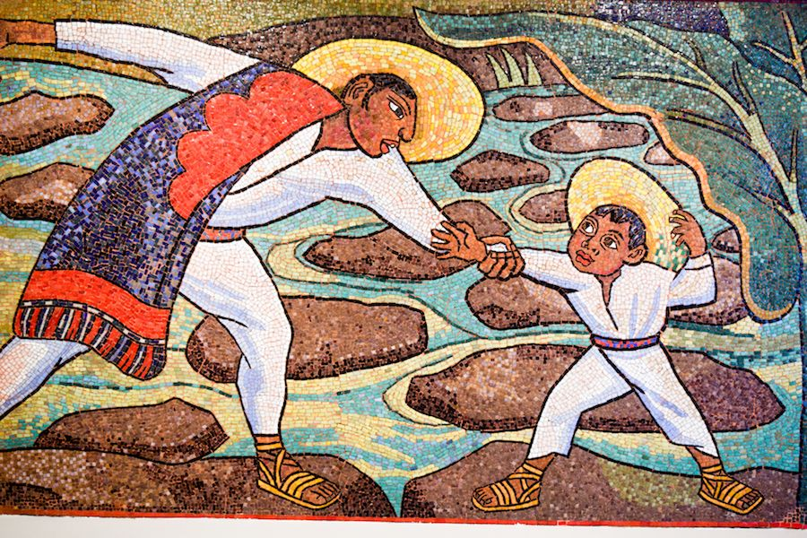 Diego Rivera, Rio Juchitan, 1956, Museo Soumaya, Mexico City