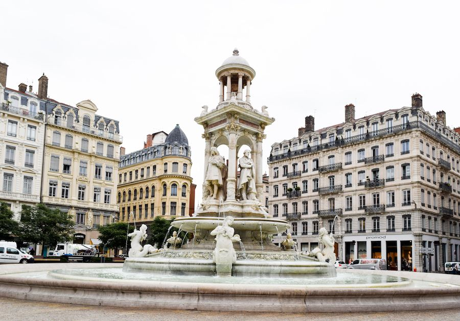 Places you MUST visit when in France – Place des Jacobins, Lyon, France
