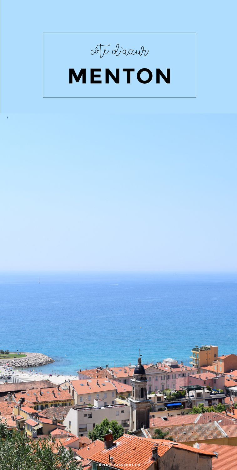 Best View in Menton France