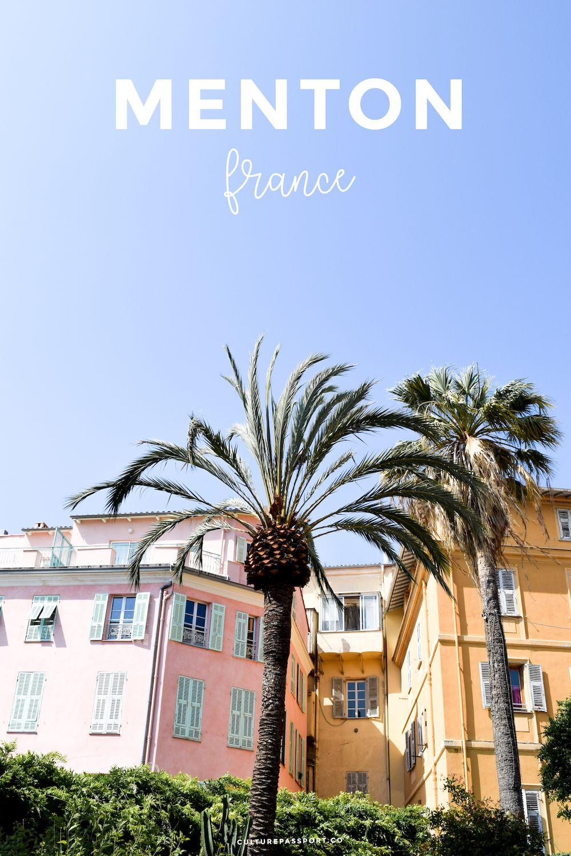 Visit Menton France