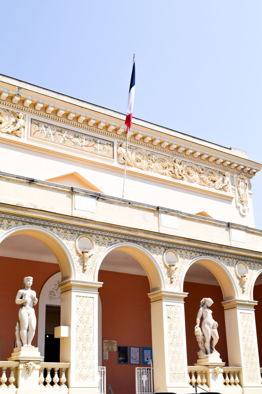 Menton, France Architecture