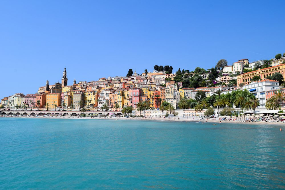 Charming Small Towns in France: Menton