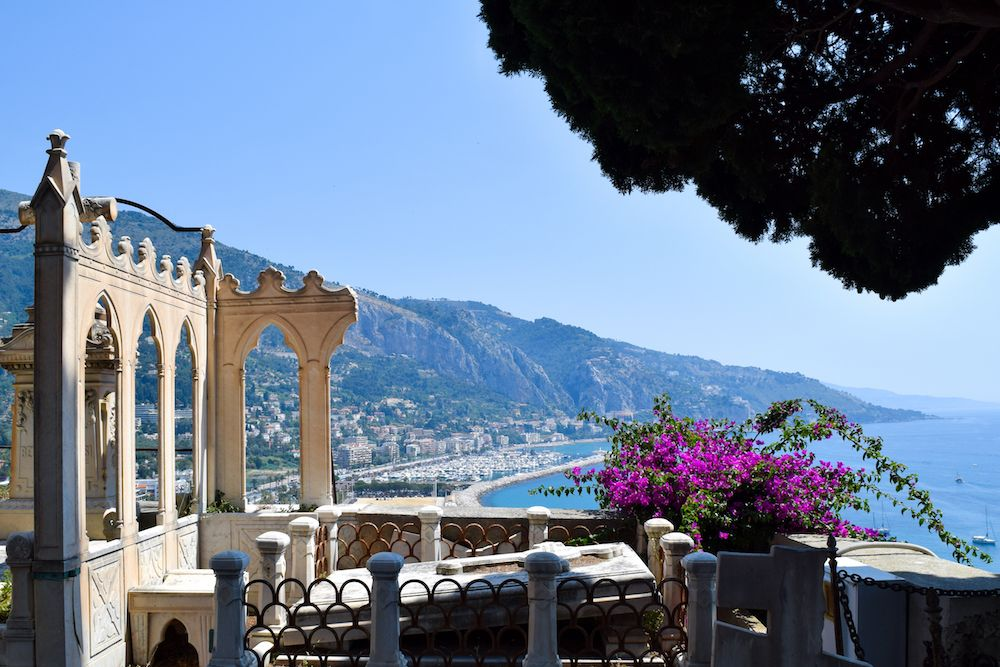 Best View of Menton, France