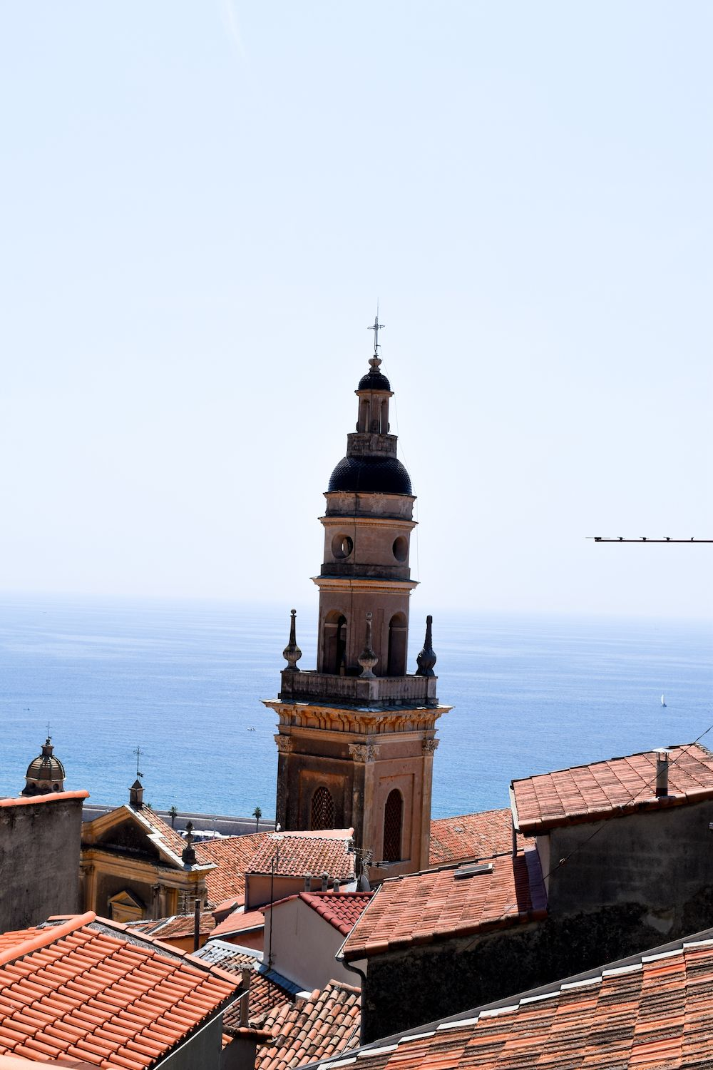 Views of Menton, France