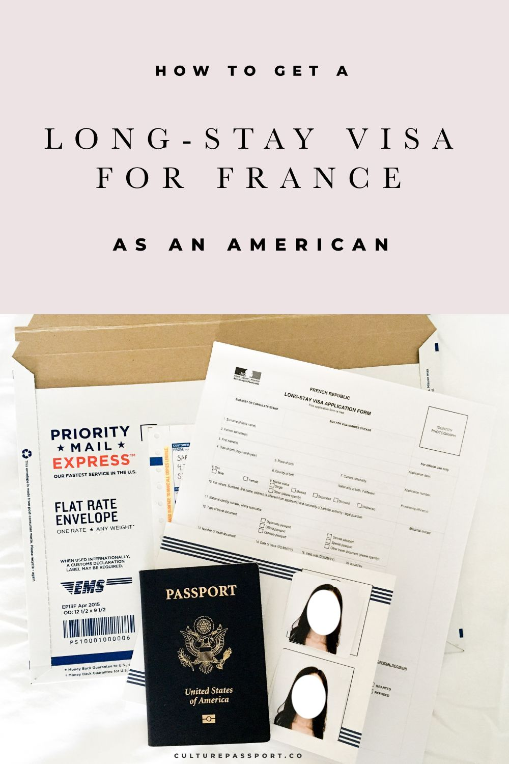 How To Get A Long Stay Visa For France As An American