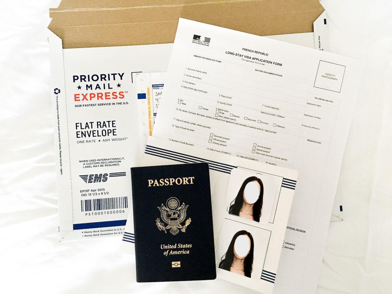 Long Stay Visa for France Application