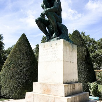 The Thinker at Musée Rodin