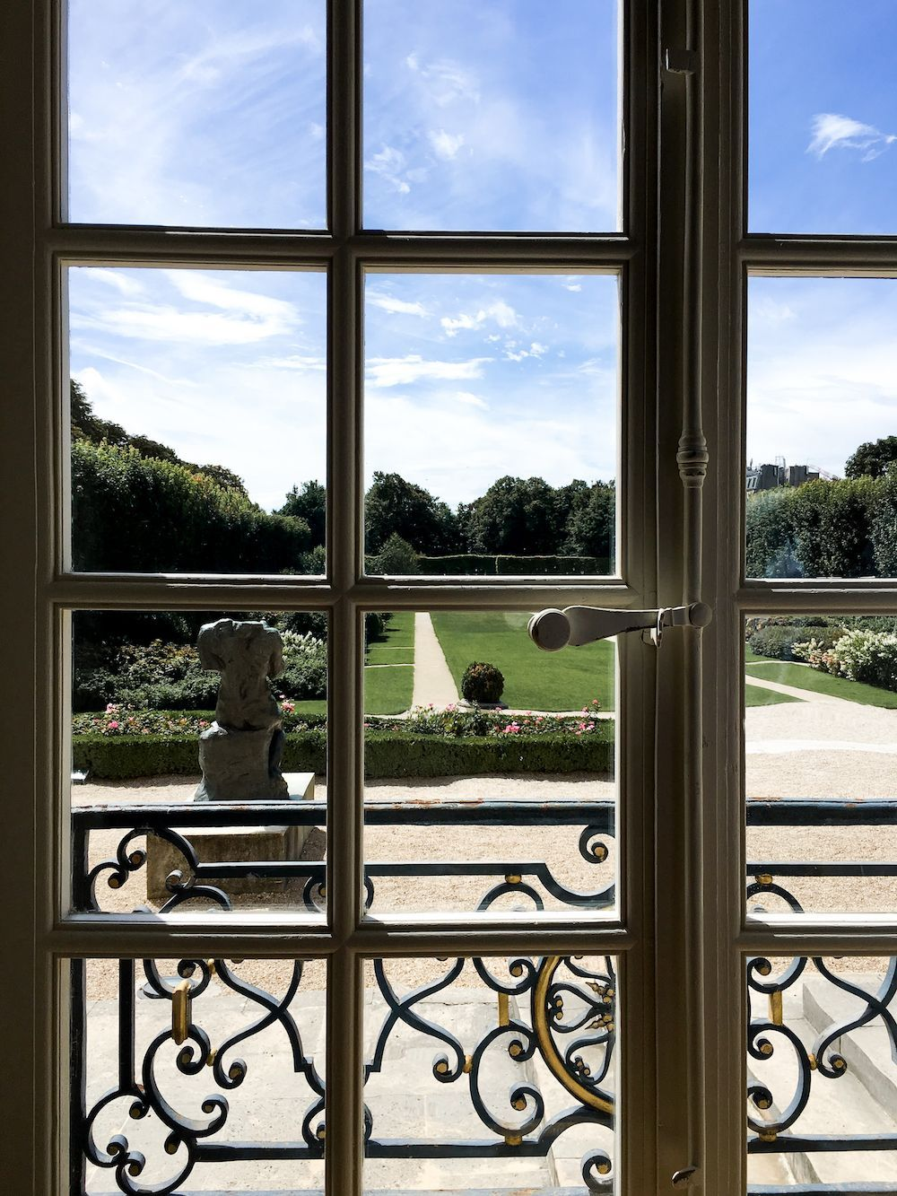 View from Musée Rodin