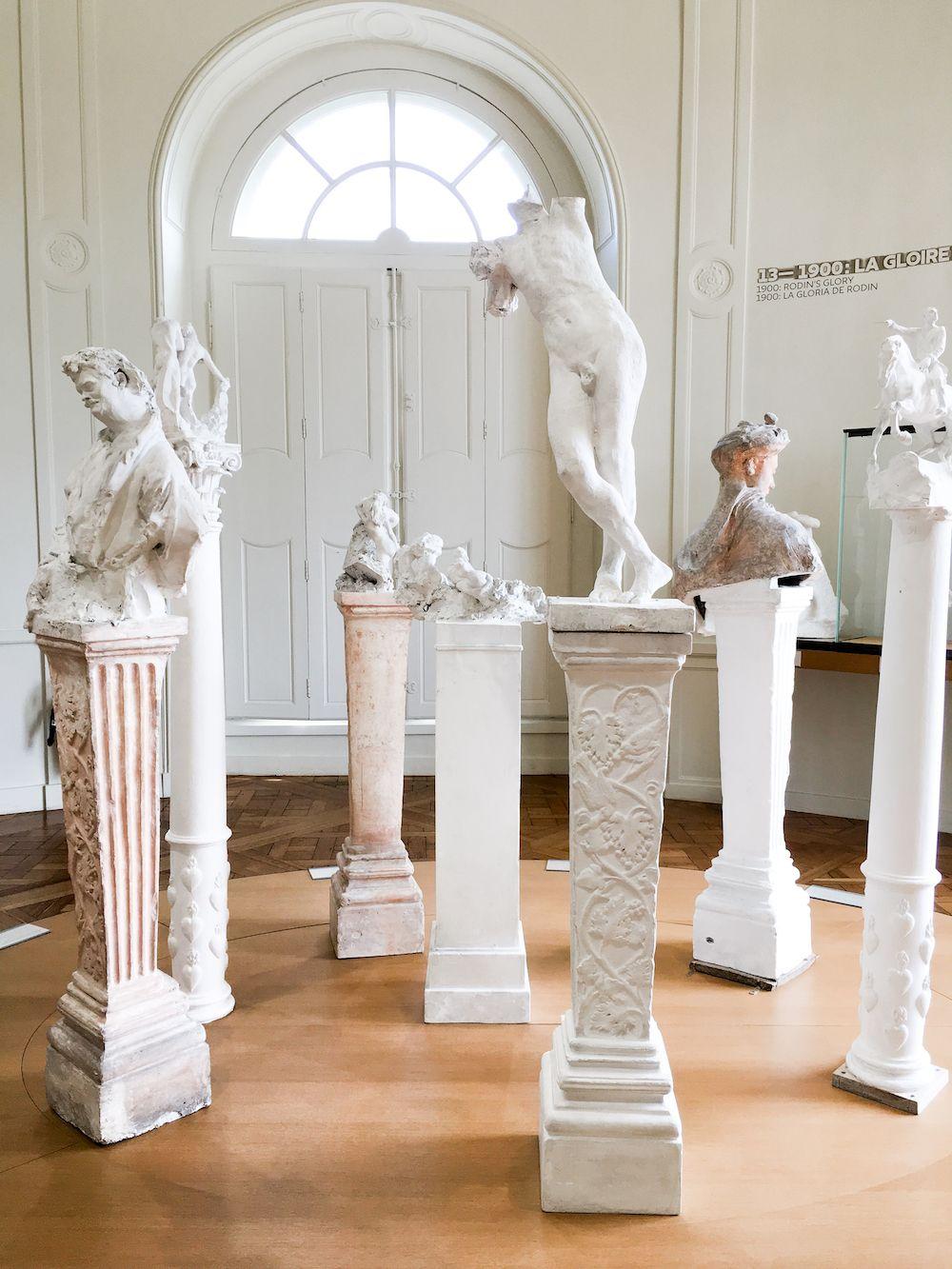 Sculptures at Musée Rodin