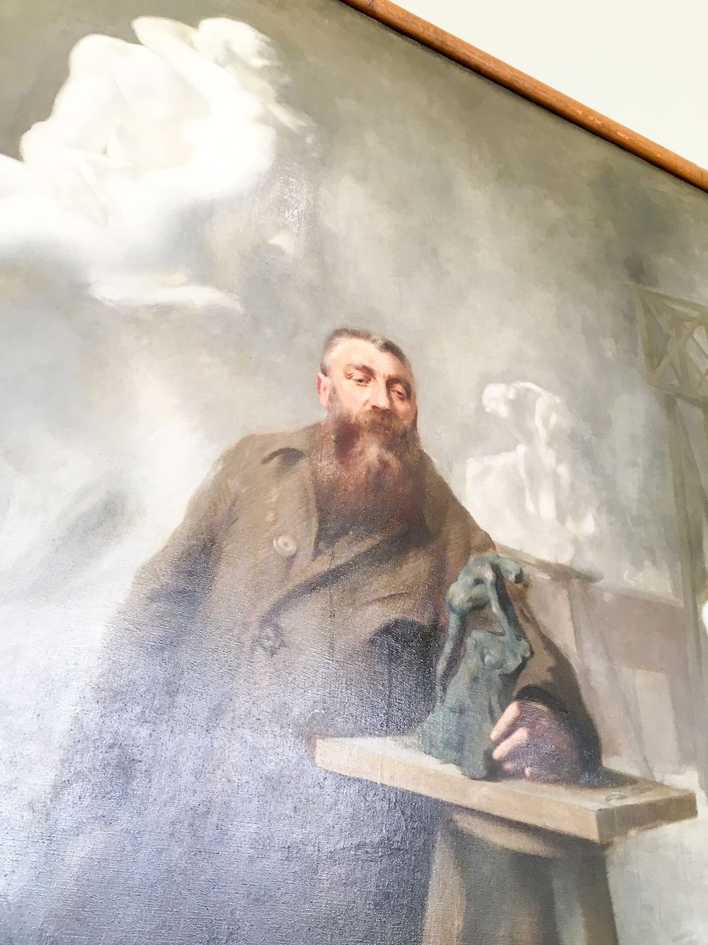 Portrait of Auguste Rodin at Musée Rodin by René Avigdor