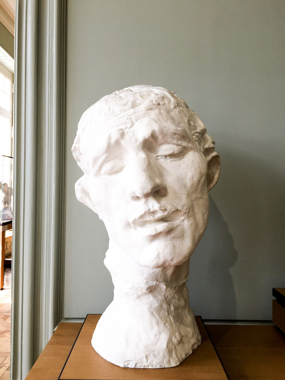 Head Sculpture at Musée Rodin