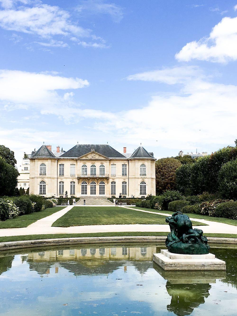 Musée Rodin Outside