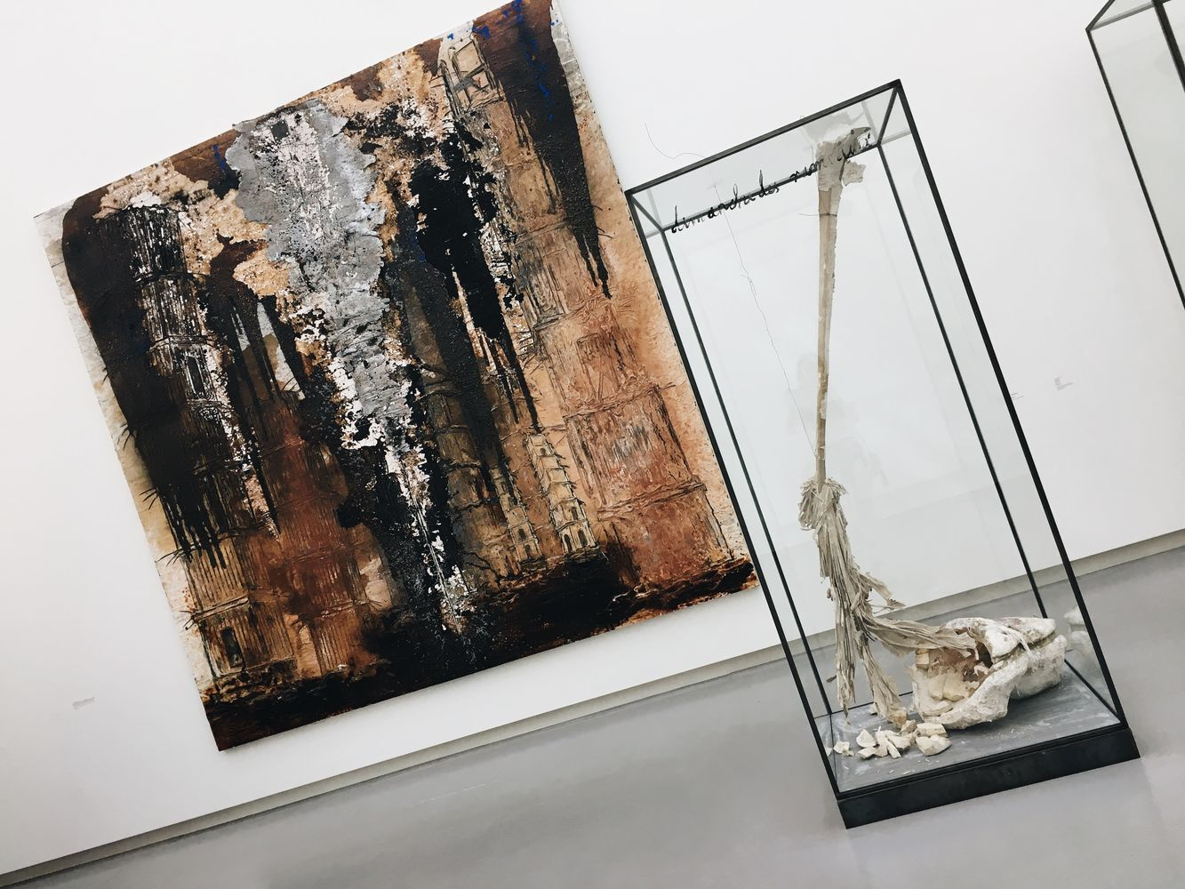 Anselm Kiefer at the Musée Rodin