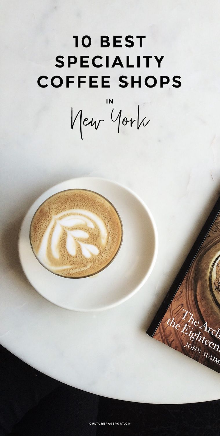 Best Specialty Coffee Shops in New York, Third Wave NYC Coffee