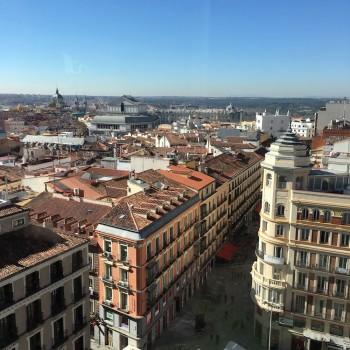 Best View in Madrid Spain