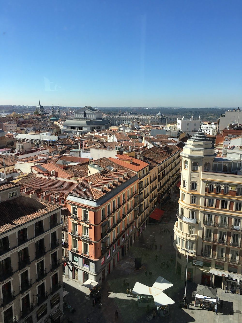 Best View in Madrid Spain