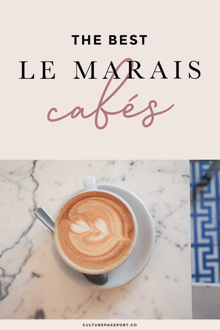 The Best Le Marais Cafes In Paris