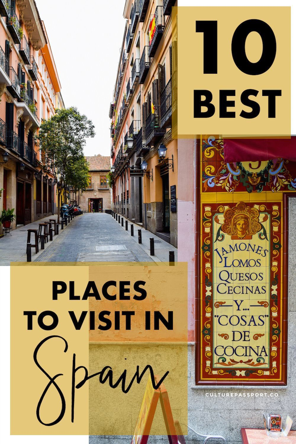 10 Best Places to Visit in Spain