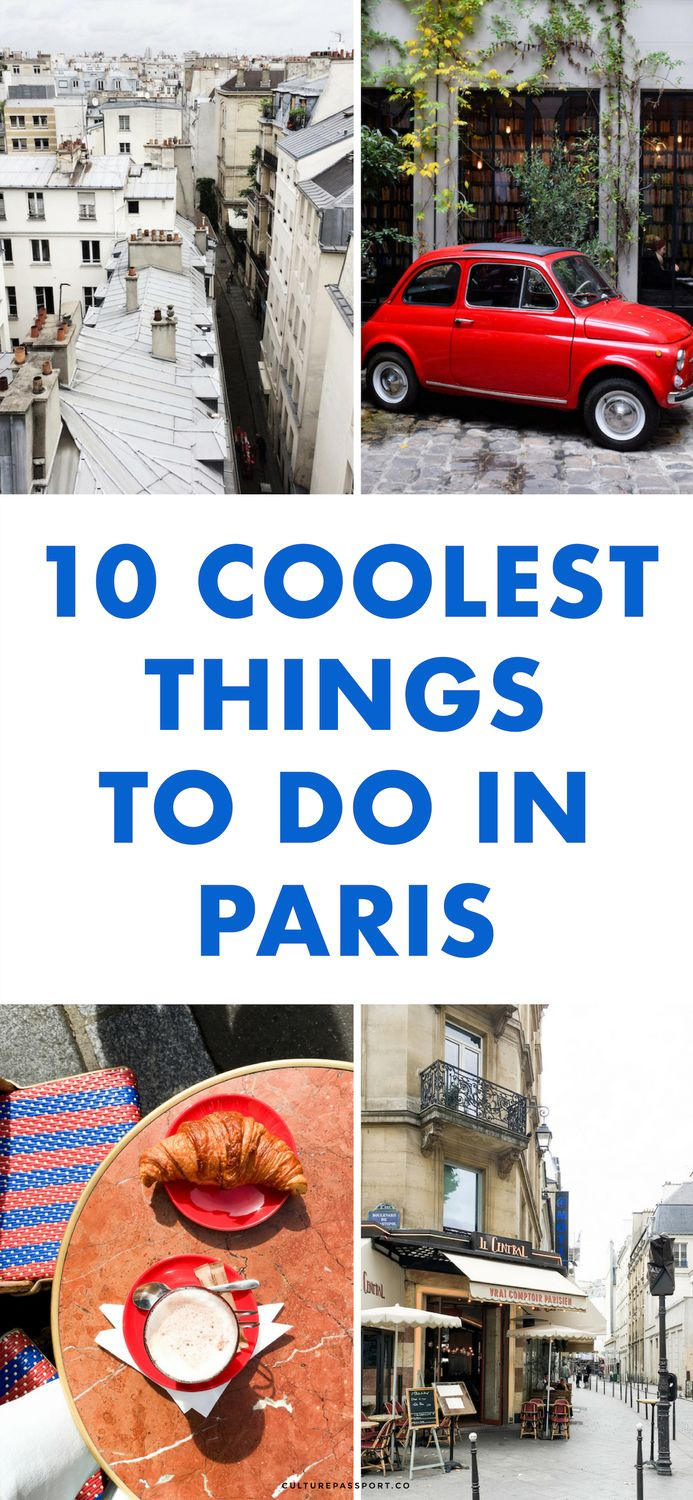 10 Coolest things to do in Paris