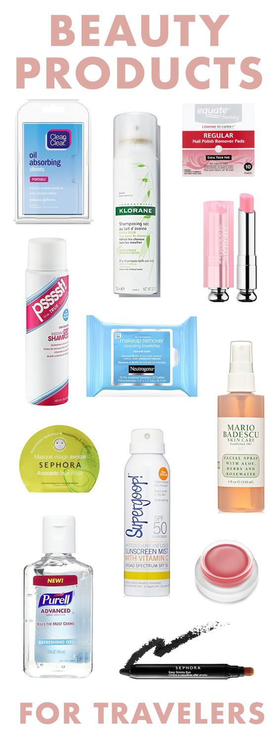 Beauty Products for Travelers