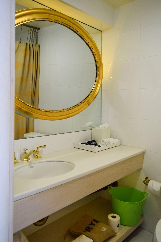 Bathroom Vanity at The Line Hotel Los Angeles