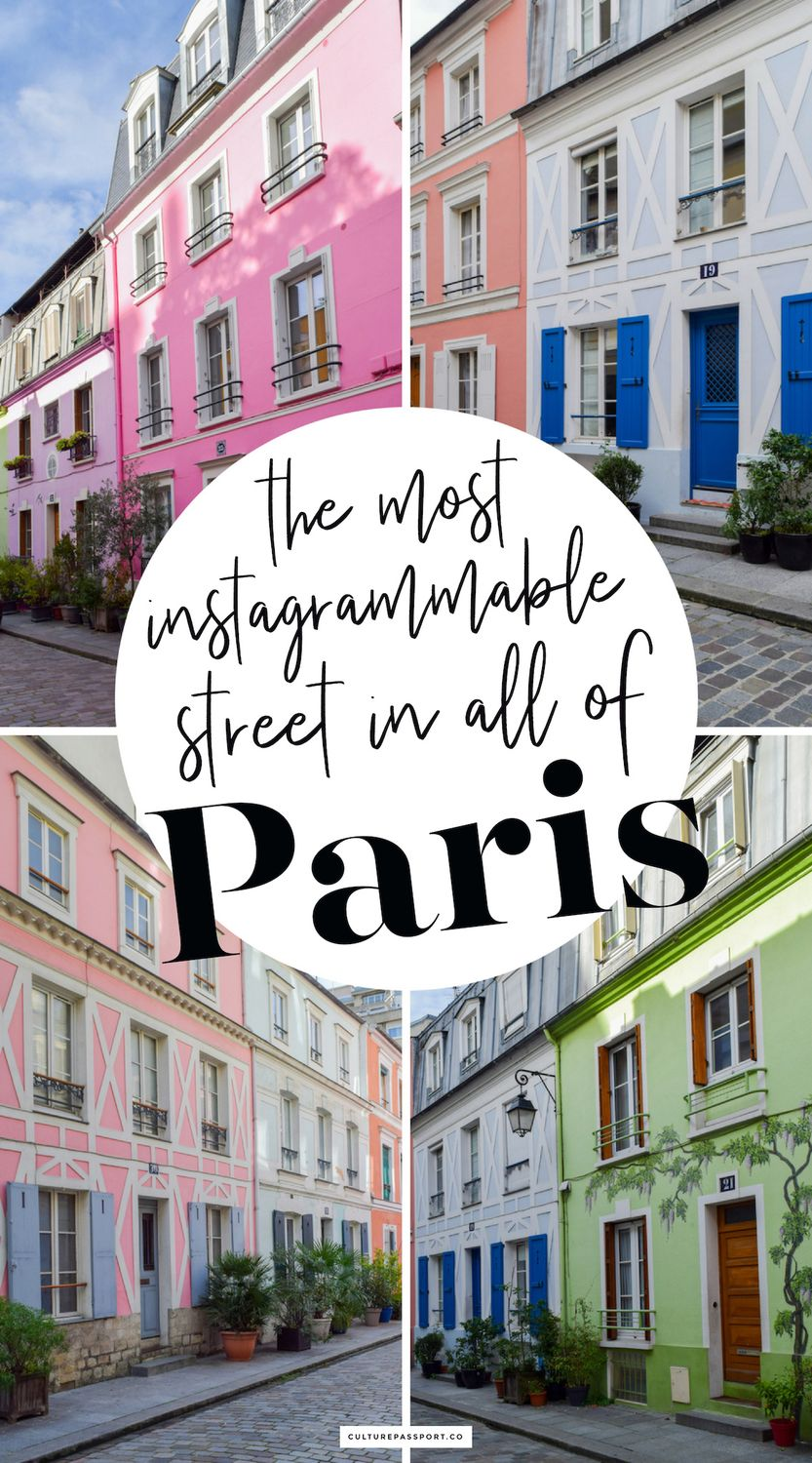 The Most Instagrammable Street in Paris