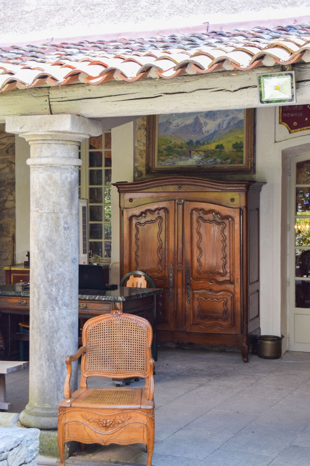 Antique French Furniture In L'Isle-Sur-La-Sorgue
