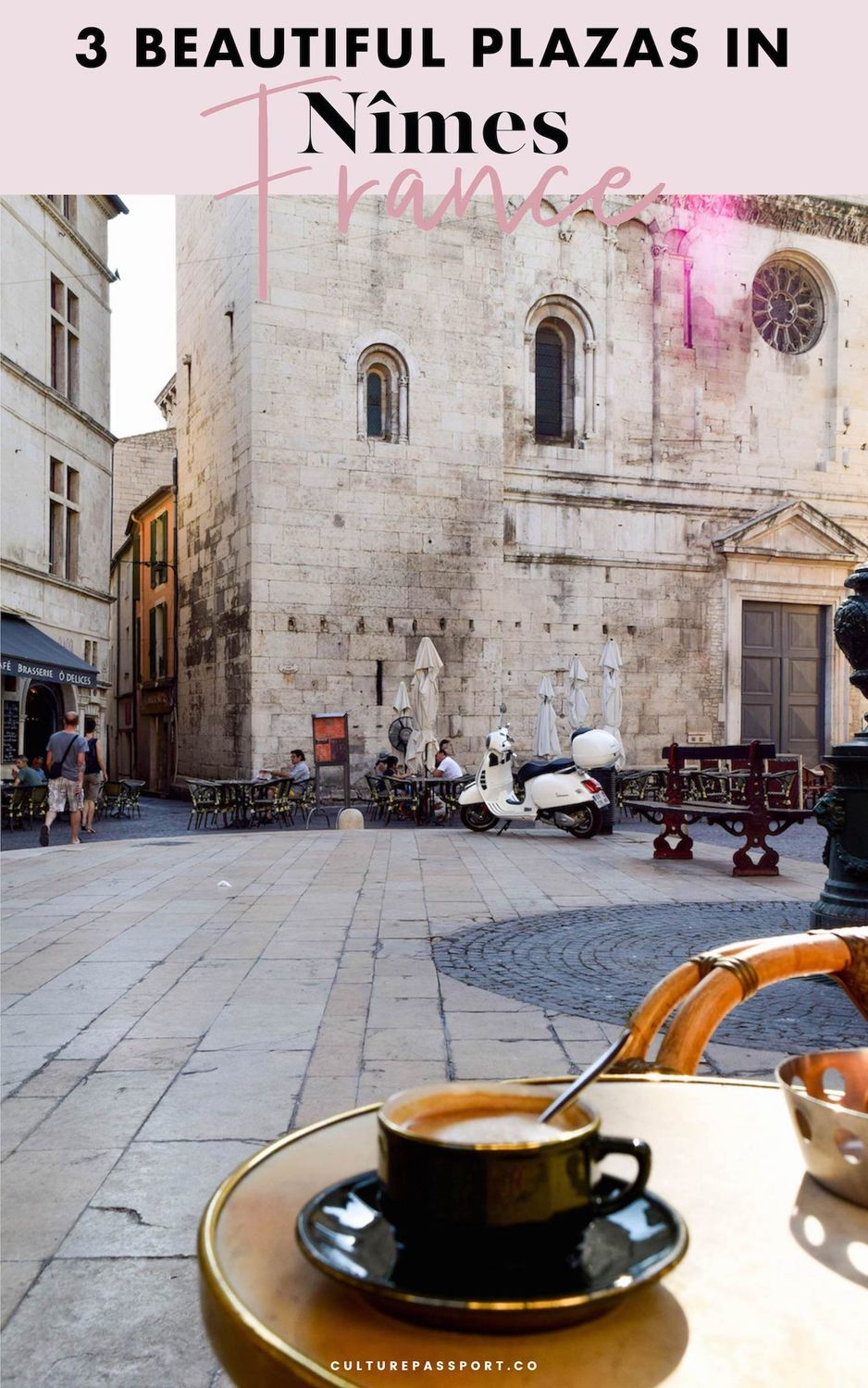 Beautiful Plazas In Nimes France #travelfrance