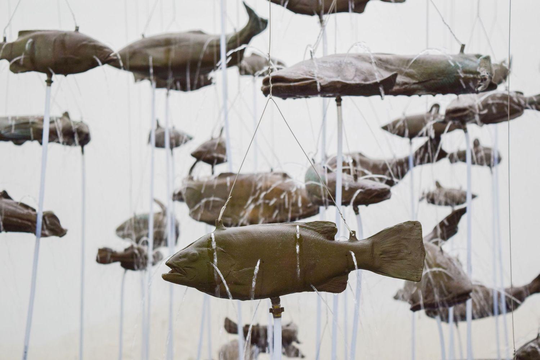 Bruce Nauman, Bruce Nauman, One Hundred Fish Fountain, 2005, Fondation Carmignac, France